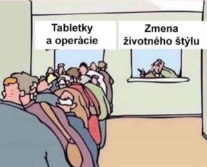 fronta na tabletky